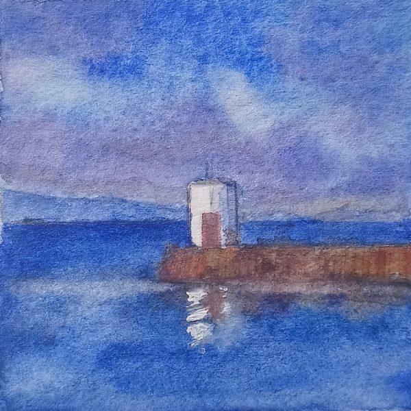 Nairn Lighthouse IV by Stephen Murray
