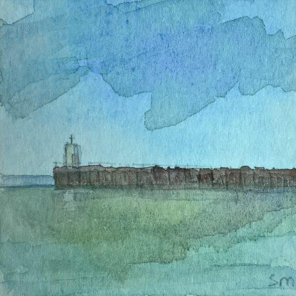 Nairn Pier III by Stephen Murray